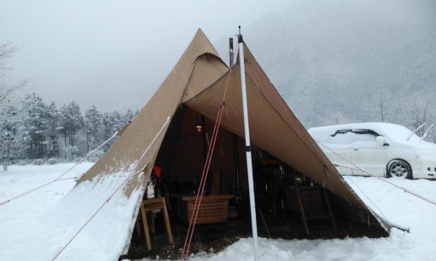 雪中キャンプにとっての設営・撤収とは